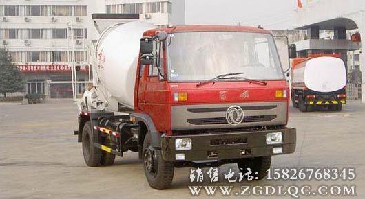 东风6方混凝土搅拌运输车