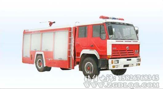 红岩水罐消防车