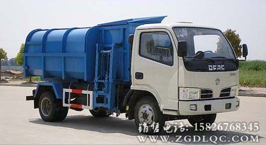 东风金霸自装卸式垃圾车