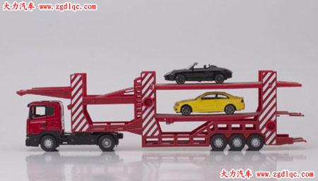 轿车运输车的模型