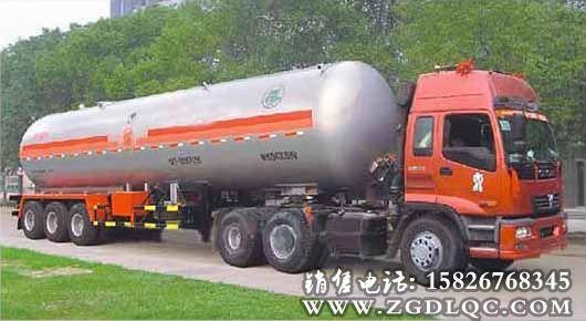 斯太尔前四后八液化气体运输车