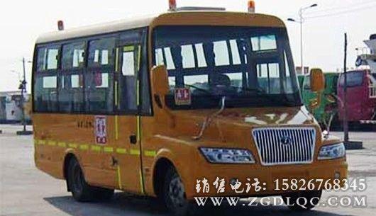 东风38座幼儿尖头校车(大力牌)