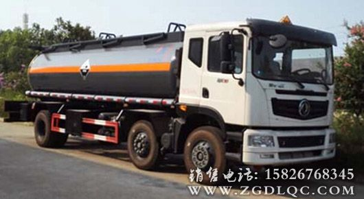 东风特商小三轴化工车(13.98)
