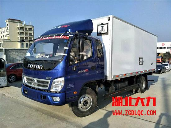 福田冷藏车图片
