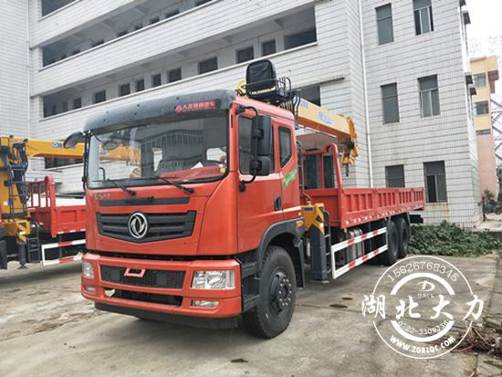 产品推荐:东风特商后八轮12吨随车吊