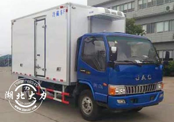 江淮骏铃V5系列厢体4.1米冷藏车