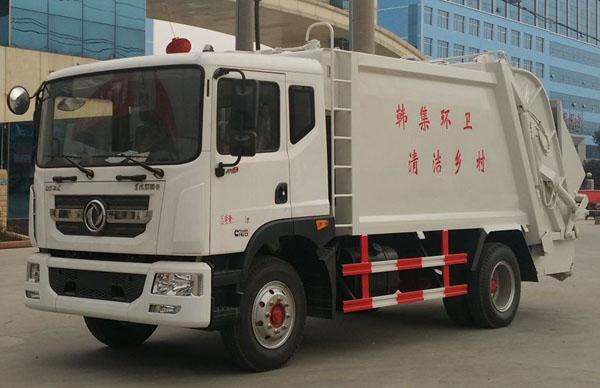东风D9压缩垃圾车