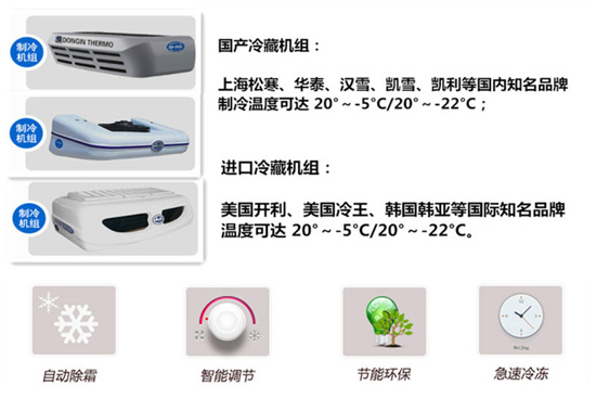 冷藏车冷藏机组